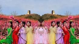 美丽的家乡桃花源(土门峪二龙塔):2019陕西风光系列片(13)