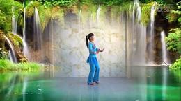 安源红子玉广场舞《那里的山那里的水》