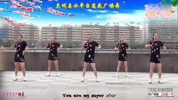 兰州莲花广场舞【你是电你是光】附背面演示