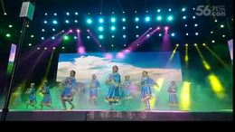 四川巴中开心乐园广场舞《雪山姑娘》