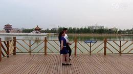 王艺自编舞蹈《三步拉手舞》习舞视频