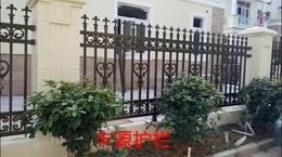 东莞半山豪苑铝艺护栏