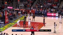 林书豪高效12分5助攻,NBA 2018.12.27 老鹰121 129步行者