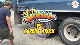 沃宝欢乐泡 看老外恶搞欢乐泡,垃圾车测试承重力