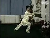 带口令88式太极拳 全套动作背练 口令李德印 示范陈思坦 标清...
