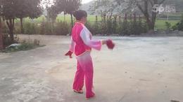 溜溜的姑娘像朵花    粟溪广场舞 彭小辉