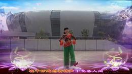 湖南君悦广场舞《阿妈佛心上的一朵莲》  编舞:格格...