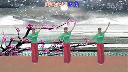 重庆宝娜广场舞 原创 我的家乡下雪了 _01