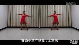 029安徽小草广场舞《土家妹》编舞:格格老师