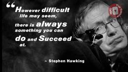 Stephen Hawking   From 1 To 75 Years Old