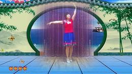 122上海阿英广场舞《有一个美丽的地方》编舞:茉莉  演示:...