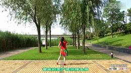 沭河之光广场舞原创《康巴汉子我的情郎》正背面演示分解...