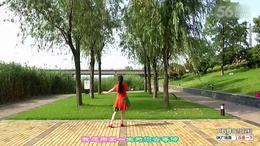 沭河之光广场舞原创《山花朵朵开》正背面演示分解...