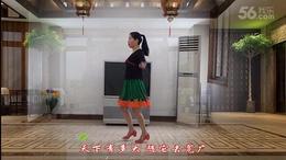 感悟人生广场舞《火红的萨日朗》