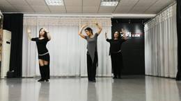 河南洛阳艾尚娜娜肚皮舞Nina(娜娜)老师集体舞蹈《他她》