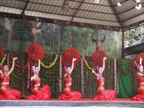西双版纳雨林谷  歌舞表演<四>