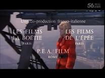 1969年法意合拍电影 La Femme écarlate   无名女郎 (TB6904)