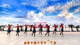 绍兴柯桥瓜渚湖北岸广场舞   天堂牧歌  编舞  格格