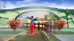 111上海阿英广场舞《雪寻梅》编舞:陈敏 视频制作 演示:阿英