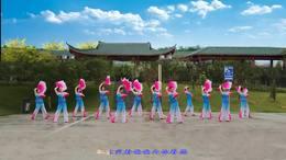 威远幸福广场舞《弱水三千》团队版  228