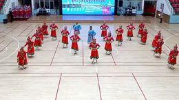 乌海市第五届老年人运动会暨鄂尔多斯健身操交流活动的表演