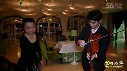 杭州西湖创意求婚  爱情速递方式西餐厅求婚  1