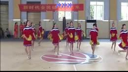 汲滩镇  娜姐 广场舞 变队形【中国冲冲冲】