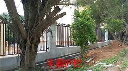 东莞半坡学校铁艺围栏