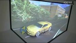 K02 车模异形投影