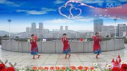 湖南君悦广场舞《梦见你的那一夜》 编舞:応子(重新改编版)