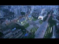 Aerial shots of Nanning city 4 —航拍南宁 华灯初上