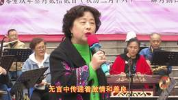 郑州第十一届海棠文化节 碧沙乐团葛郑萍演唱 马背上的情歌