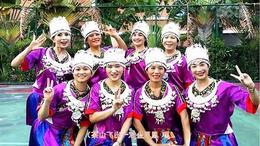 三亚冬梅广场舞《茶山情歌》