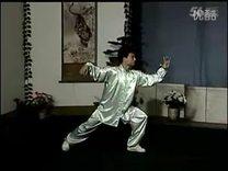 17  40式杨式太极拳竞赛套路教学全套动作正向示范_标清