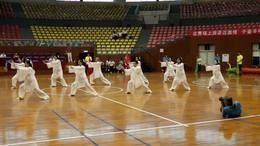 川东电力集团运动会:24式太极拳