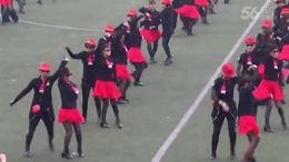 大型团体水兵舞(西安春子、张玉龙、赤兔马团队)