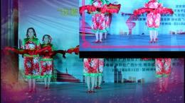 广西昭平香影广场舞东方红比赛版 编舞 春英