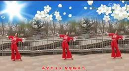 月梅广场舞【天籁之爱】含正背面分解原创