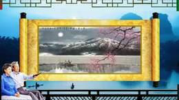 桂林漓江画轴 3