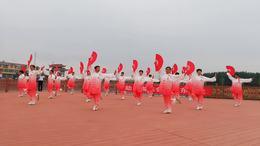 洛河镇助力省运会当好东道主太极拳展演活动
