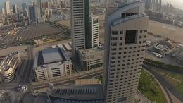 Kuwait City   Aerial Footage