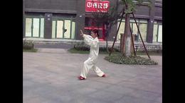 孙式七十三式太极拳竞赛套路  演练陈庆琳