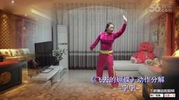 北京加州广场舞《飞去的蝴蝶》分解及背面(宁宁)...