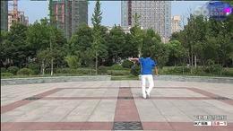带着吉祥进北京 神韵广场舞 原创  附背面分解与示范...
