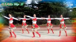 天姿广场舞2015年32期《我想回拉萨》正反 面演示加口令分解...