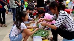龙院社区居会与相关单位举行创建文明城市暨民俗文化节