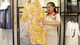 阿邦服装批发 新款时尚碎花真丝上衣10件起批  575期