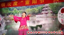 桂林大圩镇2015年重阳节文艺演出1