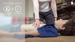帅哥急救CPR