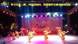 曲阜舞动人生广场舞《串烧彭拜中国梦》队形比赛2
